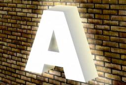 Объемные световые буквы, фото 5