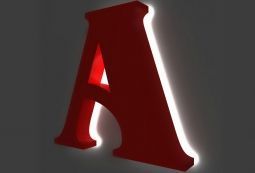 Объемные буквы из пластика, фото 4