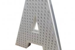 Монохромные пиксельные буквы, фото 2