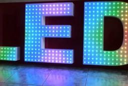 Объемные буквы с умными пикселями, фото 3