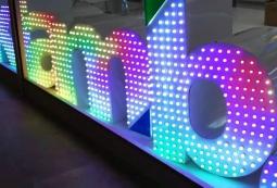 Объемные световые буквы, фото 29