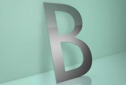 Несветовые буквы плоские 10 мм, фото 3
