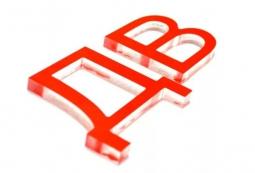 Несветовые буквы плоские 10 мм, фото 6
