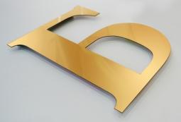 Плоские несветовые буквы 8 мм, фото 2