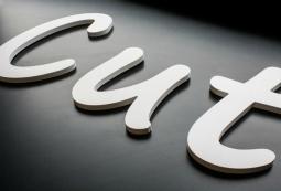Плоские несветовые буквы 3 мм, фото 4