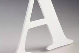 Плоские несветовые буквы 3 мм, фото 5