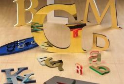 Несветовые буквы из акрила, фото 1