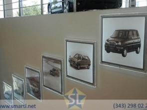 Световые панели для фотографий машин