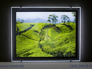 Световые панели для фотографий на стену