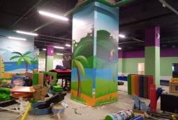 Баннер в интерьере детской зоны, фото 2