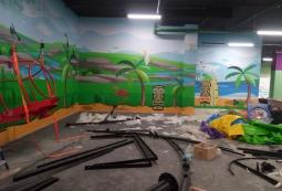 Баннер в интерьере детской зоны, фото 3