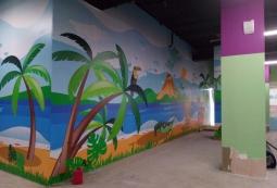 Баннер в интерьере детской зоны, фото 7