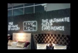Светодиодные вывески, King Koil