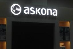 Световые вывески, Askona