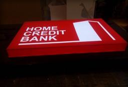 Изготовление рекламных вывесок, Homecredit